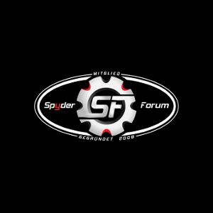 SF Logo – 3D Aufkleber – oval